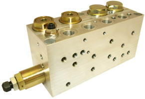 Ventilbock, Hydraulik, A/S Sauer