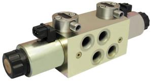 Magnetventil, A/S Sauer, Hydraulik